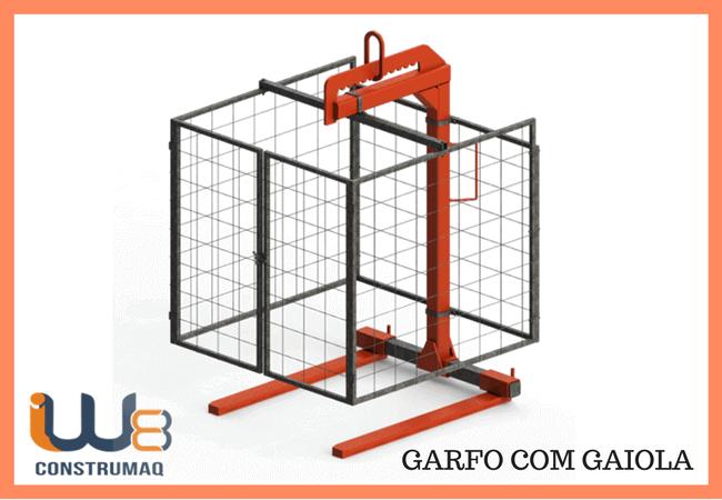 GARFO COM GAIOLA